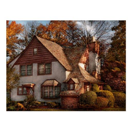 Cottage Westfield Nj Family Cottage Postcard Zazzle