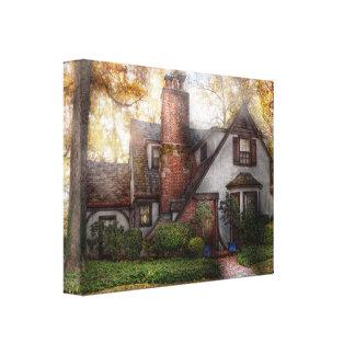 Cottage - Westfield, NJ - Grandma Ridinghoods hous Gallery Wrapped Canvas