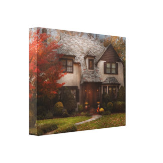 Cottage - Westfield, NJ - The country life Gallery Wrapped Canvas