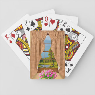 Cottage Window image for Playing Cards