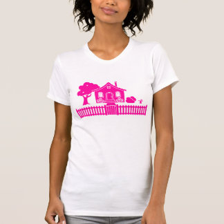 Cottage with Picket Fence T-Shirt