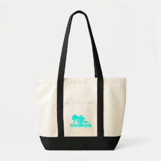 Cottage with Picket Fence Tote Bag