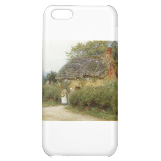 Cottage With Sunflowers Cover For iPhone 5C