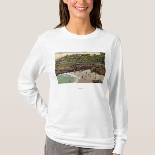 Cottages and Beach at La Jolla T-Shirt