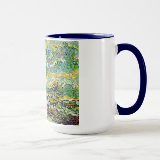 Cottages and Cypresses Reminiscence of the North Mug