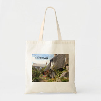 Cottages at Cadgwith Cornwall Photograph Bag