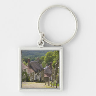 Cottages at Gold Hill, Shaftesbury, Dorset, Keychain