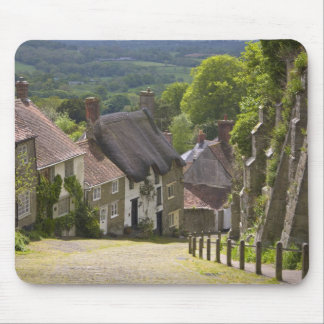Cottages at Gold Hill, Shaftesbury, Dorset, Mouse Pad