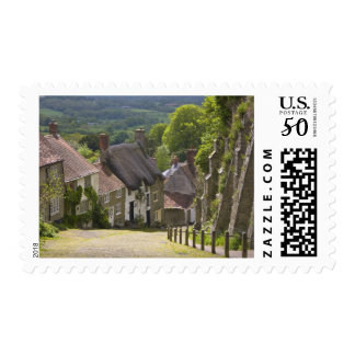 Cottages at Gold Hill, Shaftesbury, Dorset, Postage