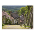 Cottages at Gold Hill, Shaftesbury, Dorset, Postcard