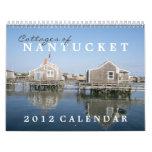 Cottages of Nantucket 2012 Calendar