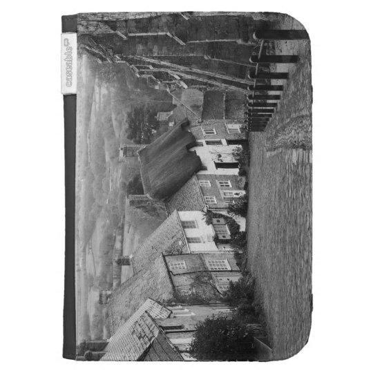 Cottages on a golden hill, Shaftesbury, Dorset, En Kindle 3G Cases