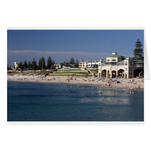 Cottesloe Beach in Perth, Western Australia Card