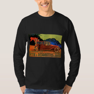 Cottin & Desgouttes ~ Vintage French Motor Car Ad T-Shirt