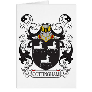 Cottingham Family Crest Card