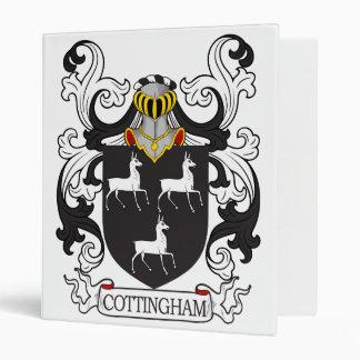 Cottingham Family Crest Vinyl Binder