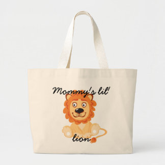 Cotton Baby Mommy's Lil' Lion Custom Tote Bag