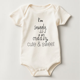 Cotton Baby Snuggly, Cuddly, Cute & Sweet Tee
