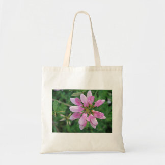 Cotton bag bloom star in pink