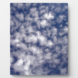 Cotton Ball Cloud Pattern Display Plaque