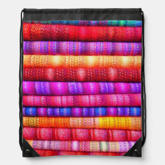 Cotton blankets mochilas