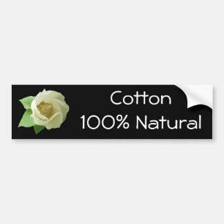 Cotton Blossom Series Bumper Sticker