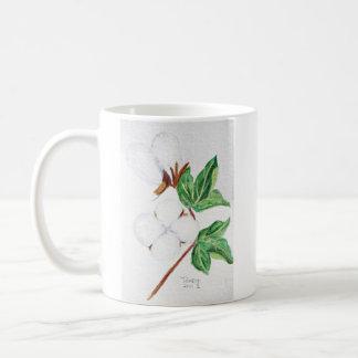 Cotton Boll Botanical Mug