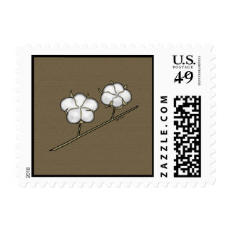 Cotton Boll Postage Stamps