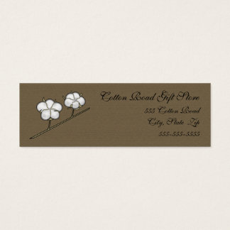 Cotton Boll Skinny Business Card