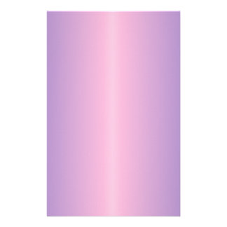 Cotton Candy and Ube Gradient Personalized Stationery