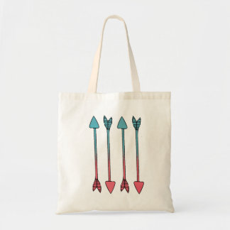 Cotton Candy Arrows Tote