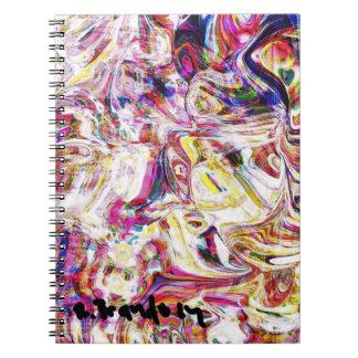 """""""Cotton Candy"""" Art Notebook"""
