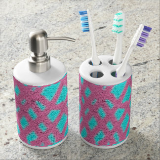 Cotton Candy Blue/Pink Toothbrush & Soap Set