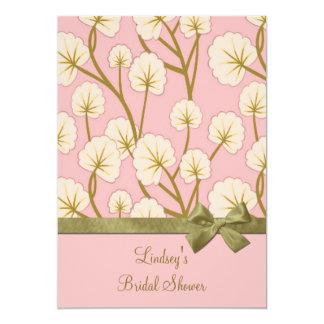 Cotton Candy Bouquet Bridal Shower Custom Invite