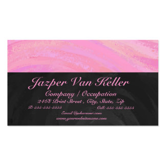 Cotton Candy Business Card