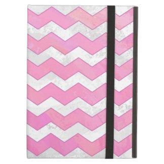 Cotton Candy Chevon Pattern iPad Air Case