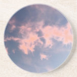 Cotton Candy Clouds 01 Beverage Coasters