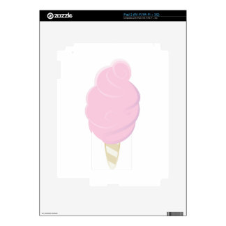 Cotton Candy Decal For The iPad 2