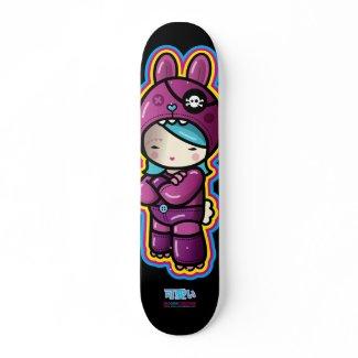 cotton candy deck skateboard