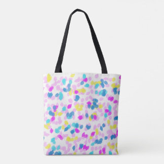 Cotton Candy Dots Tote Bag
