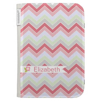 Cotton Candy Dreams {chevron pattern} Case For The Kindle