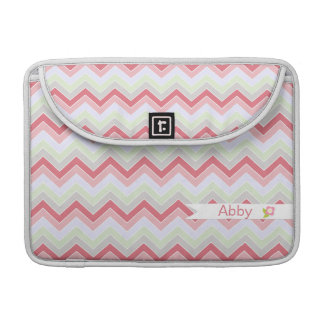 Cotton Candy Dreams {chevron pattern} Sleeve For MacBook Pro
