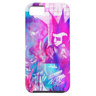 Cotton Candy Goth Girl and Punk Dude iPhone SE/5/5s Case