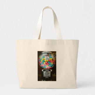 Cotton Candy Gum Large Tote Bag