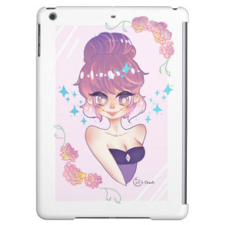 Cotton Candy Hair iPad Air Cover