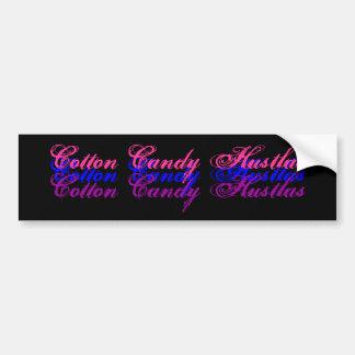 Cotton Candy Hustlas, Cotton Candy Hustlas, Cot... Car Bumper Sticker