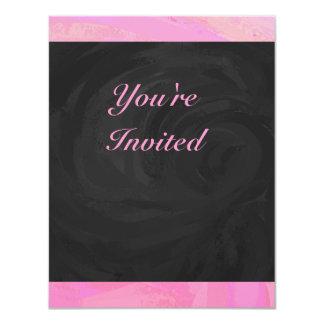 Cotton Candy 4.25x5.5 Paper Invitation Card