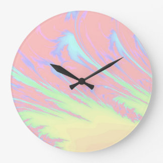 Cotton Candy Large Clock