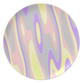 Cotton Candy Melamine Plate