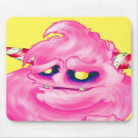 Cotton Candy Monster Mouse Pads